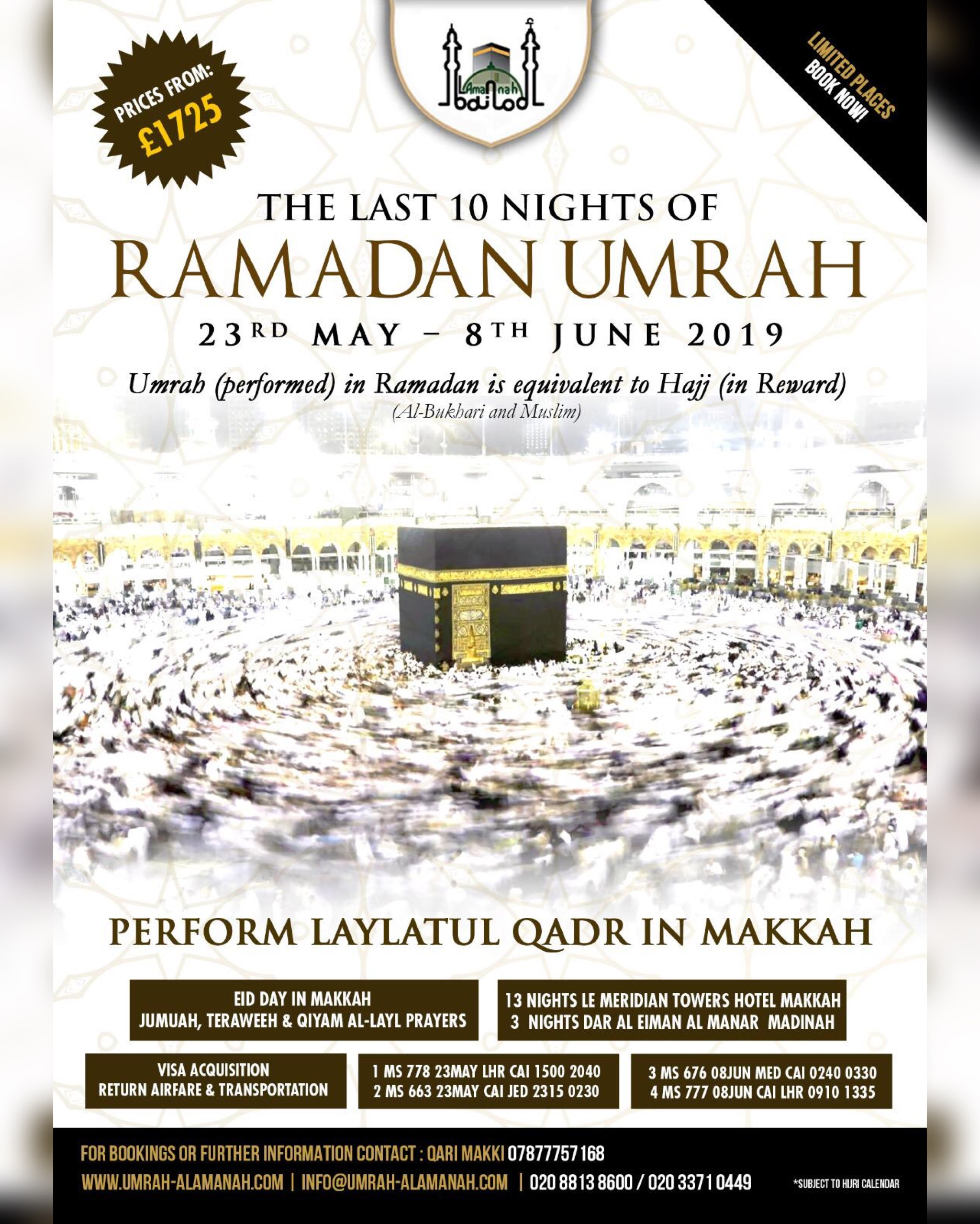 Hajj Packages in UK | Cheap Hajj Packages | 5 Star Hajj Packages